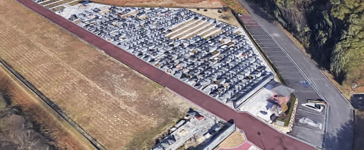 南部丘陵公園航空写真
