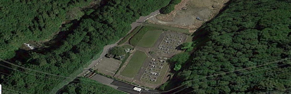 安濃町墓地公園航空写真